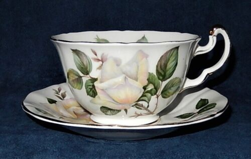 "VINTAGE ADDERLEY ~ BONE CHINA ~ POUR TOI ""FOR YOU"" № H833 ~ TEACUP & SAUCER"