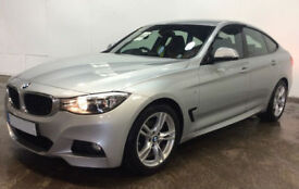 Silver BMW 320 2.0TD Auto 2016 d M Sport GT FROM £88 PER WEEK!