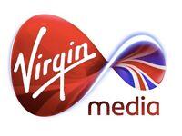 Broadband, phone and TV exclusive deals with Virgin Media