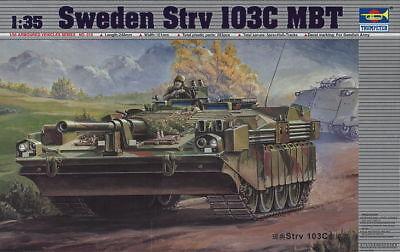 Trumpeter 9360310 Schwedisch Kampfpanzer Stridsvagn Strv 103C 1:35 Modellbausatz