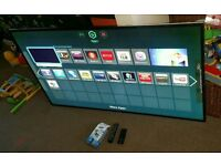 Samsung 60 inch full HD 3D smart tv excellent condition fully working with remote control