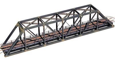 Central Valley 1820 – 150ft Pratt Truss Bridge w/ Walkways – N Scale