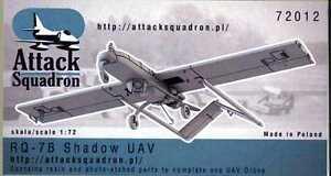 Attack Squadron Models 1/72 RQ-7B SHADOW UAV Drone