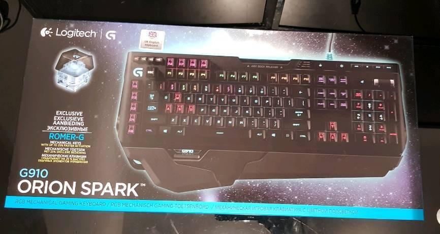 Logitech G910 Orion Spark Rgb Keyboard In Romford London Gumtree