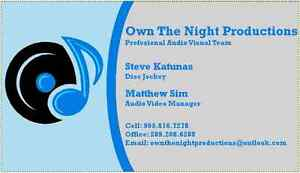 Own the Night Productions- Mobile DJ Service Kitchener / Waterloo Kitchener Area image 1