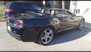 2013 Chevrolet Camaro RS Black Convertible