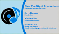 Own the Night Productions-Mobile DJ service