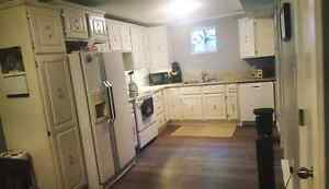 Two bedroom basement suite available September 1st