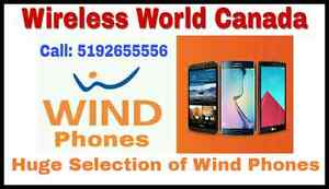 ALL TYPES OF NEW & GENTLY USED SMARTPHONES FOR WIND/ FREEDOM Kitchener / Waterloo Kitchener Area image 1