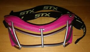 Girls STX Rookie Youth Field Lacrosse Goggles Pink