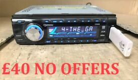 Universal Sendai car cd player Usb Mp3 Aux Radio FREE FITTING
