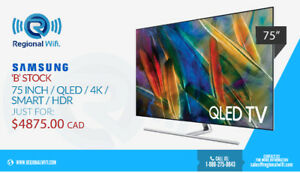 75 Inch Samsung QLED Television