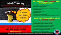In Home Math Tutoring!!