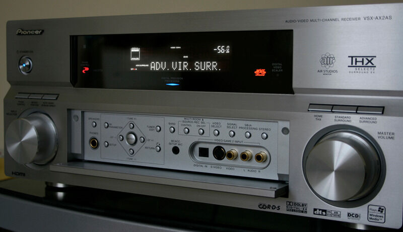 Pioneer vsx ax2as home cinema receiver amplifier thx - Thx home cinema ...