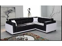 Black and white couch for sale