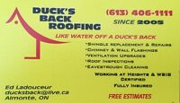 AVAILABLE for SUBCONTRACT WORK - ROOFING