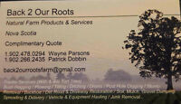 Tractor Services - landscaping / gravel / mulch / plowing ) / Ha