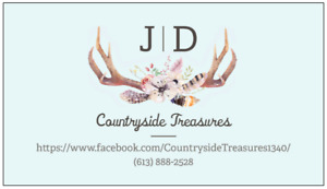 Countryside Treasures- New FB Page. Check it out!!