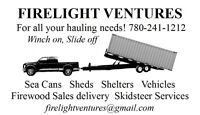 Sea Can / Shed / Vehicle Hauling