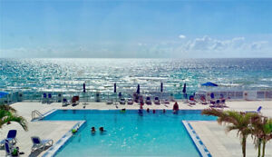LARGE LUXURY DIRECT OCEAN FRONT CONDO - HALLANDALE - HOLLYWOOD!!
