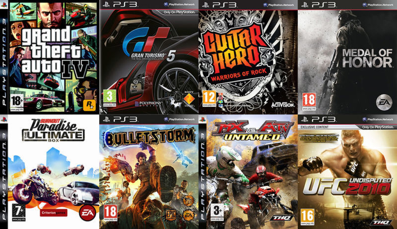 PS3 Games [E-F] º°o Buy o°º Sell º°o Trade o°º