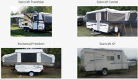 Peterborough, Omemee, Lindsay - Camping Trailer Rentals