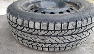 New Snow Tires with rims for sale