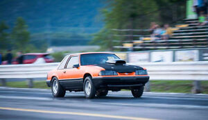 1988 Ford Mustang Foxbody BIG BLOCK CHEV DRAG CAR Coupe (2 door)