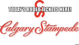 Today-Calgary Stampede Rodeo Stampede SUN Jul 15 1:15PM