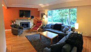 4br - 2400ft2 - Furnished 4br Home (Burnaby)