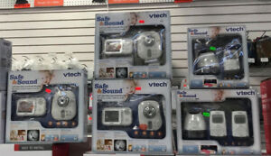 BABY MONITORS Vtech AUDIO & VIDEO MONITOR FROM $55