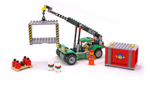 LEGO City 7992 Container Stacker, complete