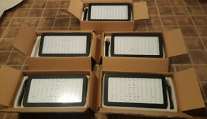 5 Nice Full Spectrum *plus UV/IR* LED grow lights 800 watt each