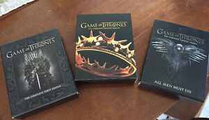 Game of Thrones S1, 2, 4 Blu Ray