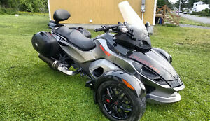 CAN-AM SPYDER RSS 2012   29 500 KM