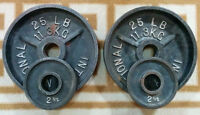 2x 25lbs / 2x 2.5lbs Olympic Weight Plates