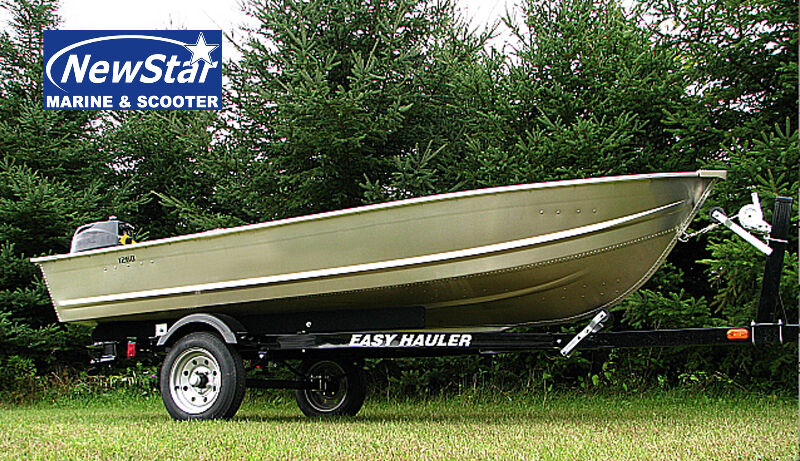 New aluminum boats motor trailer combo 5000 tax in Aluminum boat and motor packages