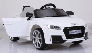 Licensed 12V Audi TT RS Child Ride-On Car, Doors, Remote , more