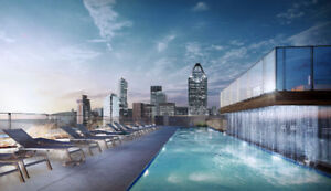 3 1/2 Condo Brand New Lowney Griffintown 1er August.