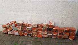 Free old red bricks