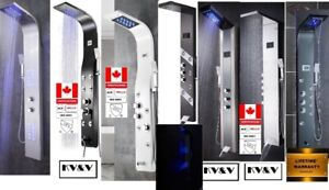 20 KV&V shower panel tower column systems of EXCEPTIONAL quality