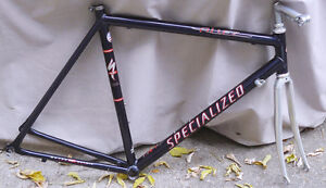 vintage specialized headset and aluminum forks