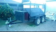 Tradie tool trailer tandem with compartments Heidelberg Banyule Area Preview