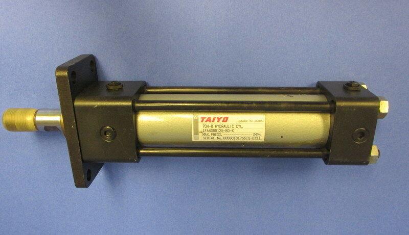 TAIYO 70H-8 7MPa HYDRAULIC CYLINDER 1FA40BB125-BD-X
