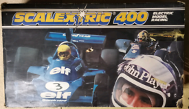 Vintage Scalextric 400 F1 Racing Set