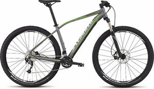 Specialized Rockhopper Comp 29 Satin Charcoal/Moto Green/Black/W