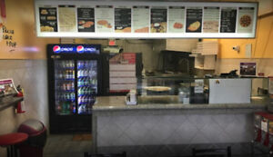 Pizza Store For Sale in Downtown Brampton $57,000 (Negotiable)