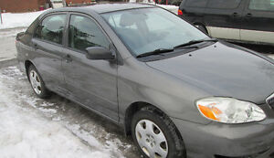2005 Toyota Corolla, Safety and E-test