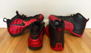 2016 Jordan 12 Bred / University Red Foams / Timberland /Kobe11