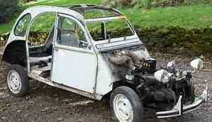 Citroen 2cv parts car